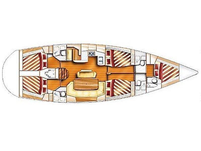 Dufour Gib Sea 51 (EC D51 04 G) Plan image - 1