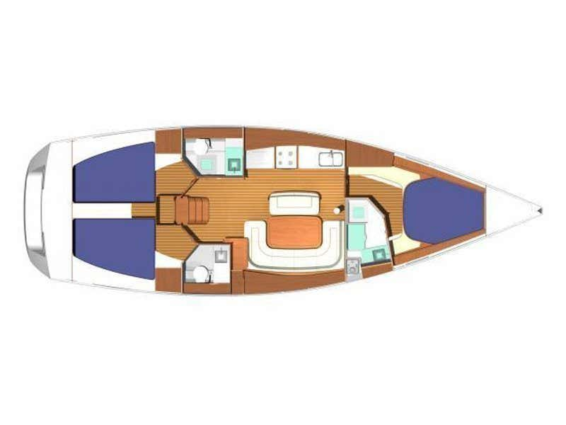 Dufour 425 GL (Al- Borany) Plan image - 10