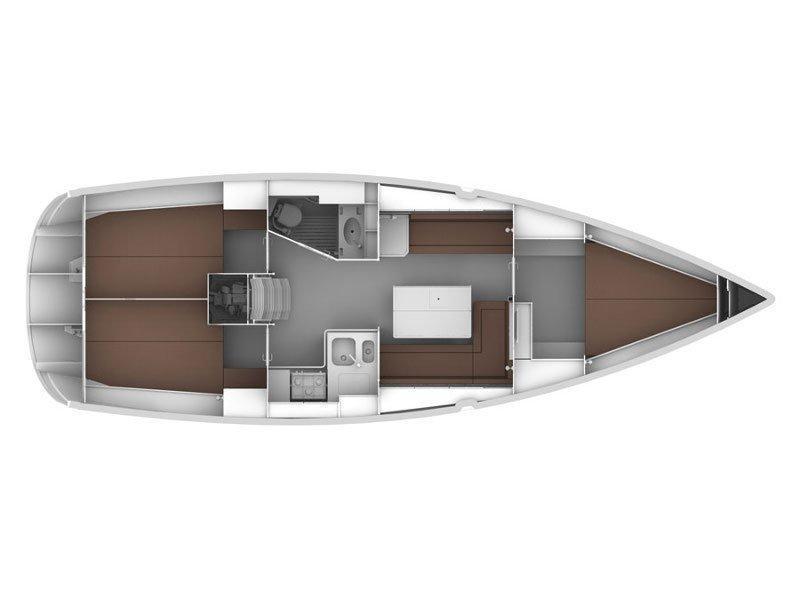 Bavaria Cruiser 36 (Angela) Plan image - 1