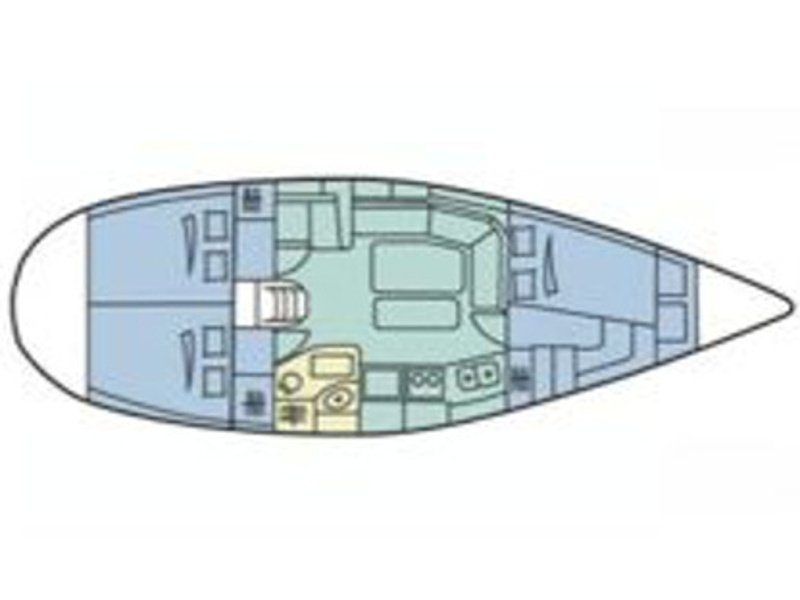 Dufour 36 Classic (Pia) Plan image - 1