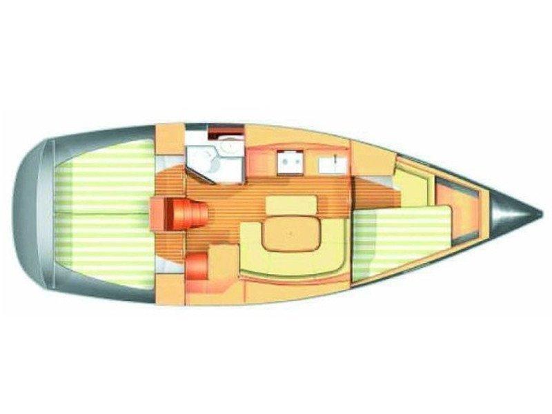 Dufour 365 (EC- D36-06-G) Plan image - 2