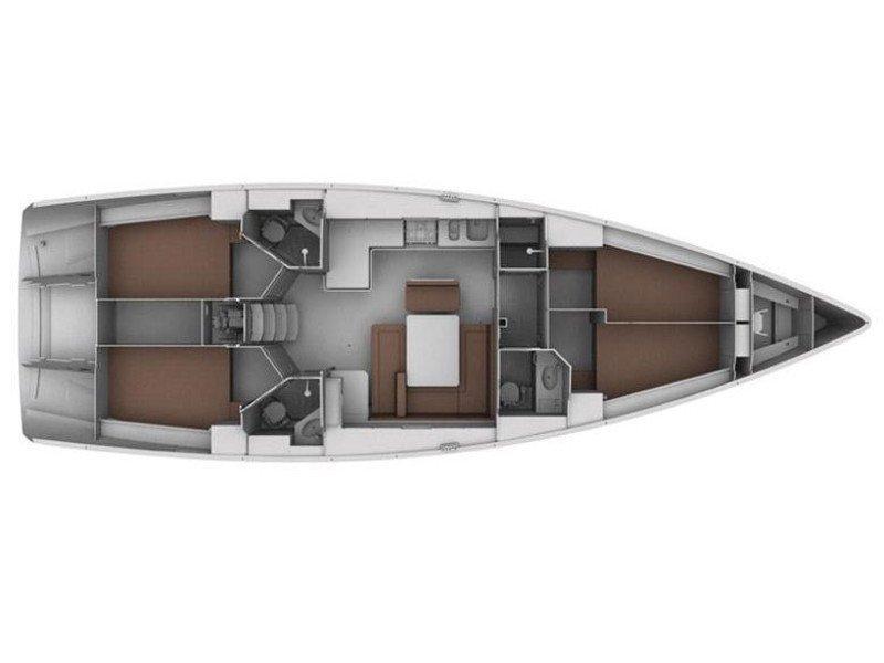 Bavaria Cruiser 45 (EC- 45B-10-MA) Plan image - 2