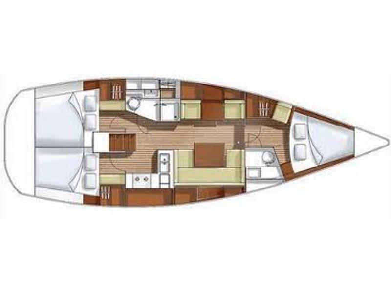 Hanse 400 (Pepita) Plan image - 7