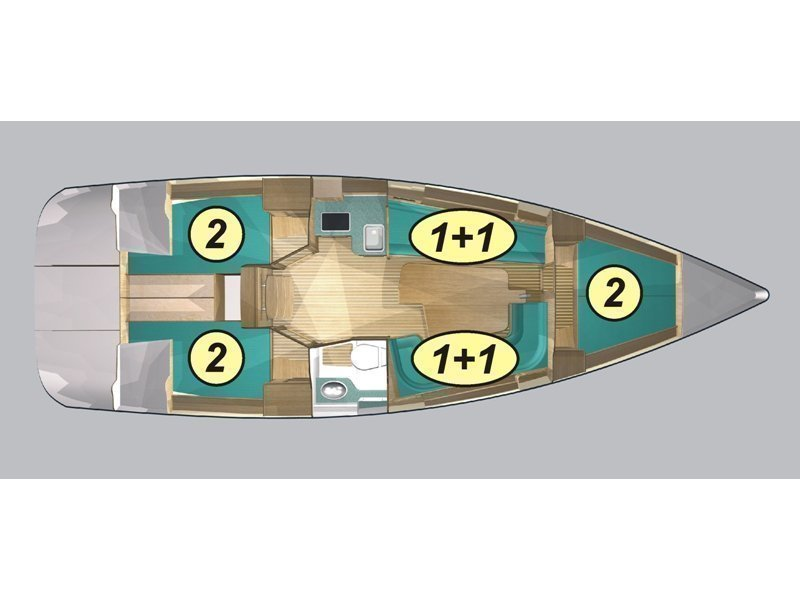 Maxus 33.1 RS Prestige (MARY JANE ) Plan image - 19
