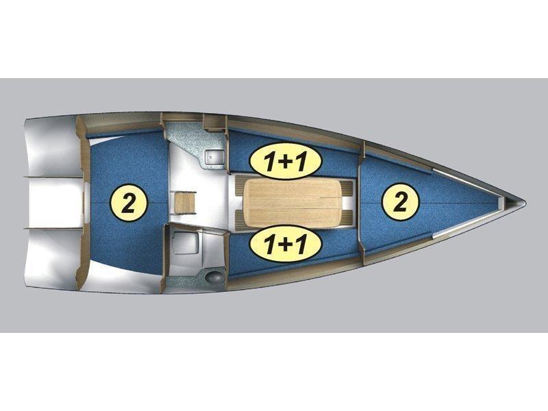 Maxus 28 Prestige + (Lefkada) Plan image - 1