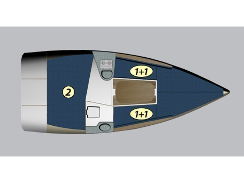 Maxus 22 Prestige + (Lambedusa) Plan image - 2