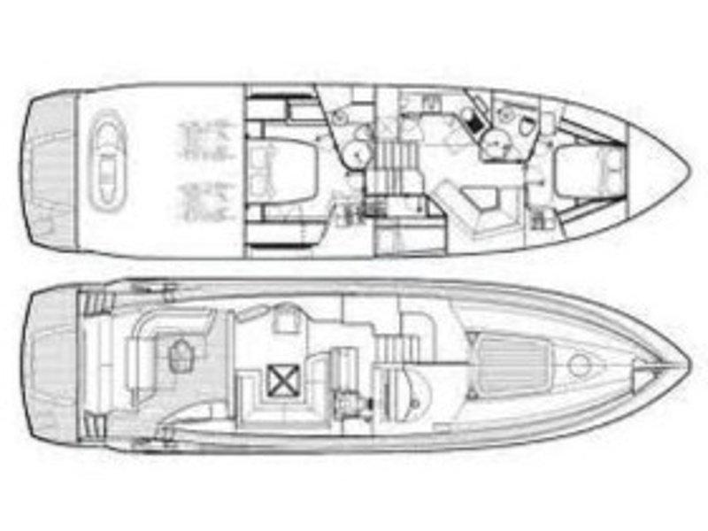 Sunseeker Predator 62 (Ena 1) Plan image - 6