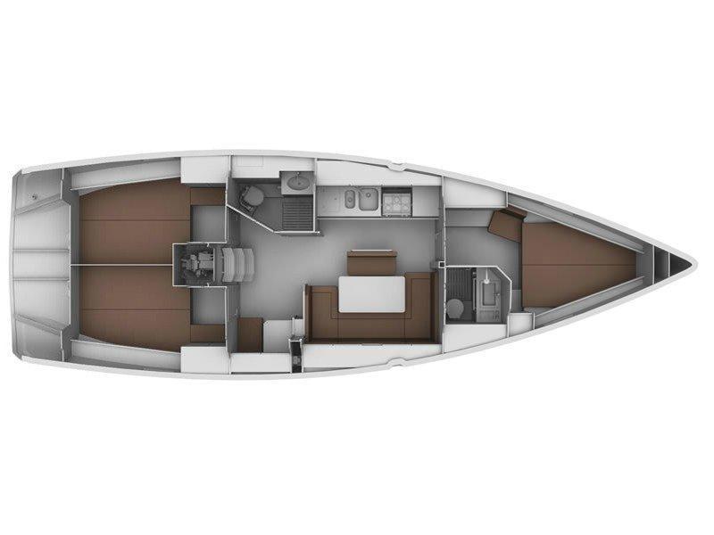 Bavaria Cruiser 40 (EC- 40C-12-G) Plan image - 2
