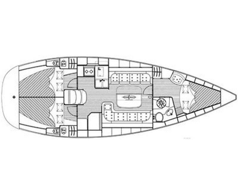 Bavaria 37 Cruiser (EC- 37B-07-CR) Plan image - 2