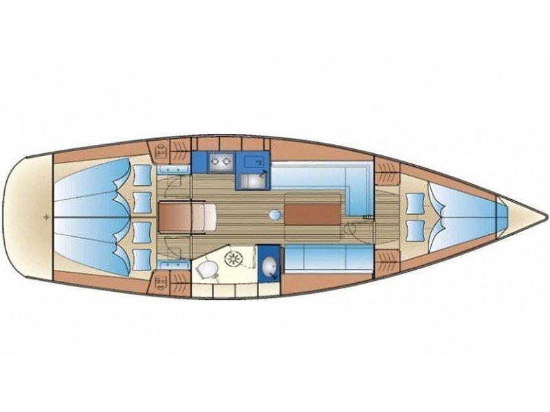 Bavaria 34 Cruiser (EC- 34B-10-G) Plan image - 2