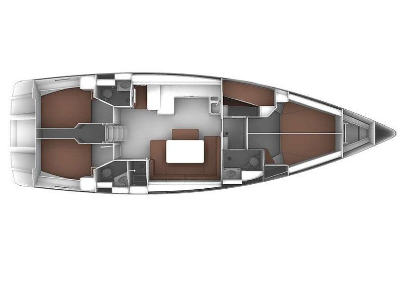Bavaria Cruiser 51 (CL- 51C-16-G) Plan image - 1
