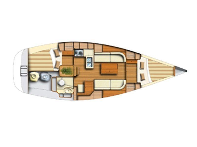 Dufour 34 (EC- D34-04-G) Plan image - 1