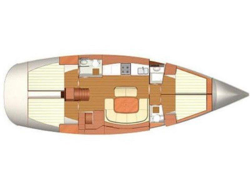 Dufour 455 (EC- D45-09-MA) Plan image - 2