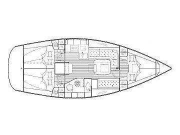 Bavaria 35 Cruiser (Alba) Plan image - 4