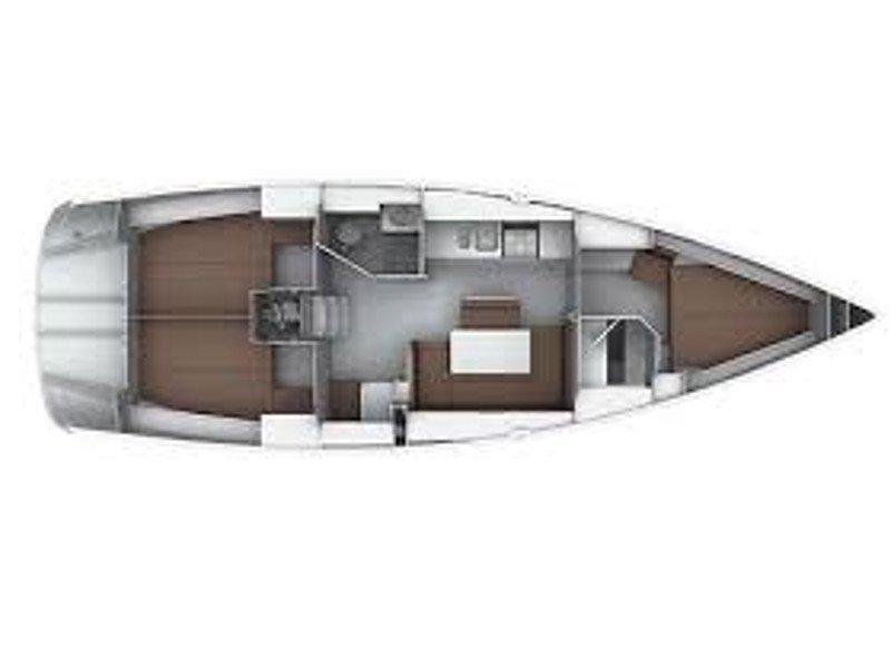 Bavaria 40 Cruiser S (CHASQUI) Plan image - 13