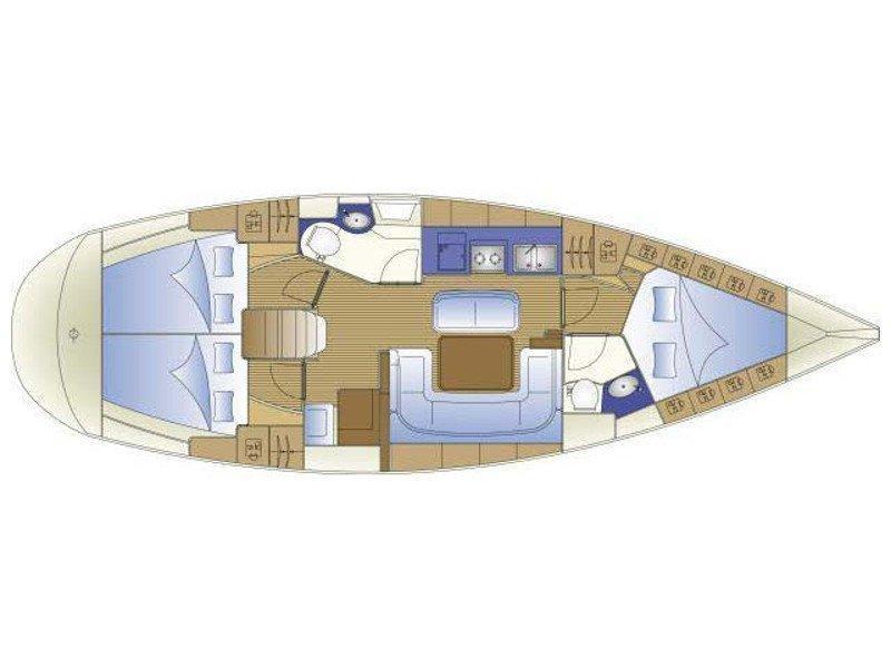 Bavaria 41 (Spanaki) Plan image - 1