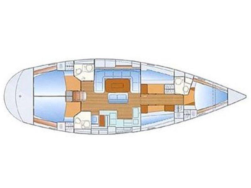 Bavaria 50 Cruiser (Smile) Plan image - 11