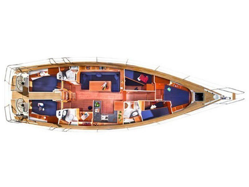 Bavaria 51 Cruiser (Feel Free) Plan image - 8