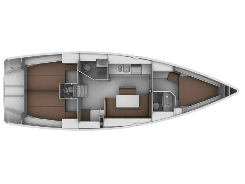 Bavaria Cruiser 40 (B40-13) Plan image - 1