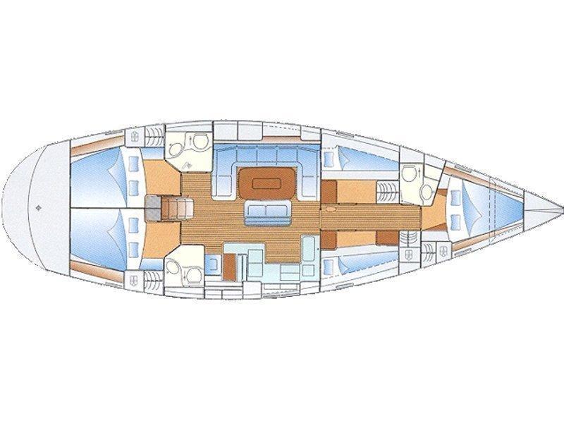 Bavaria Cruiser 50 (Altair) Plan image - 104