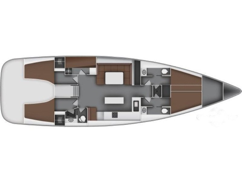 Bavaria 55 Cruiser (B55-10-A) Plan image - 1