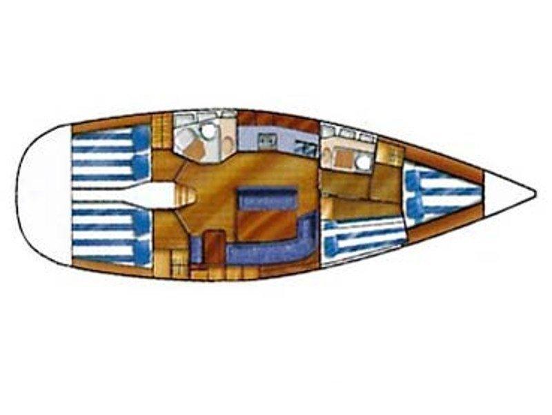 Dufour 43 (Master 43) Plan image - 1