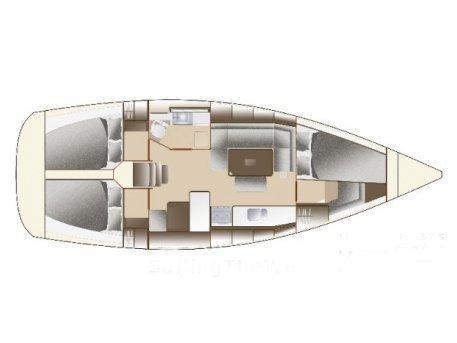Dufour 375 Grand Large (Orana) Plan image - 12