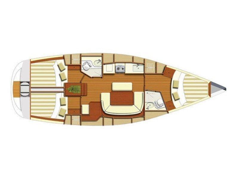 Dufour 385 (D385-07-P) Plan image - 1