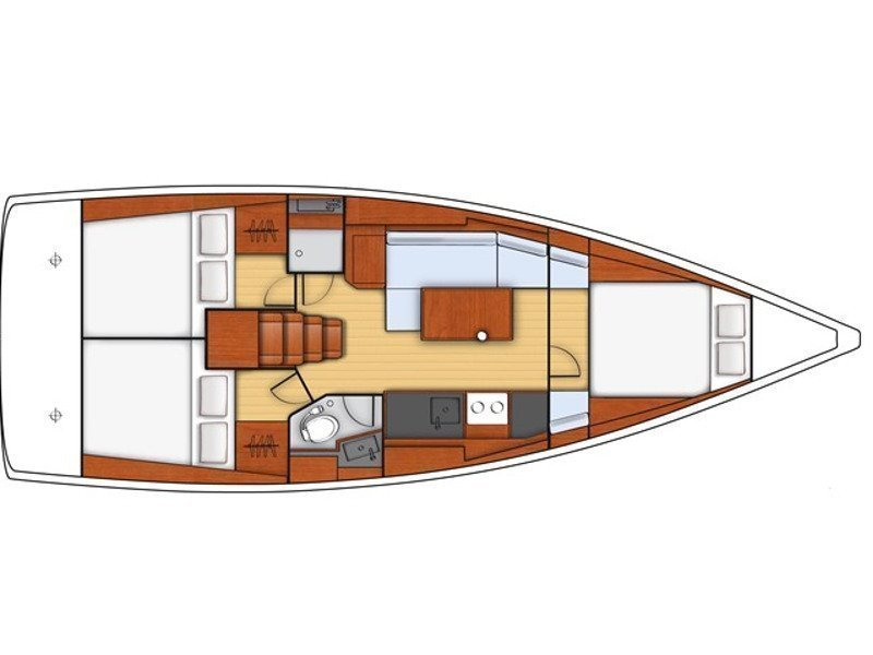 Oceanis 38 (Auxelle) Plan image - 10