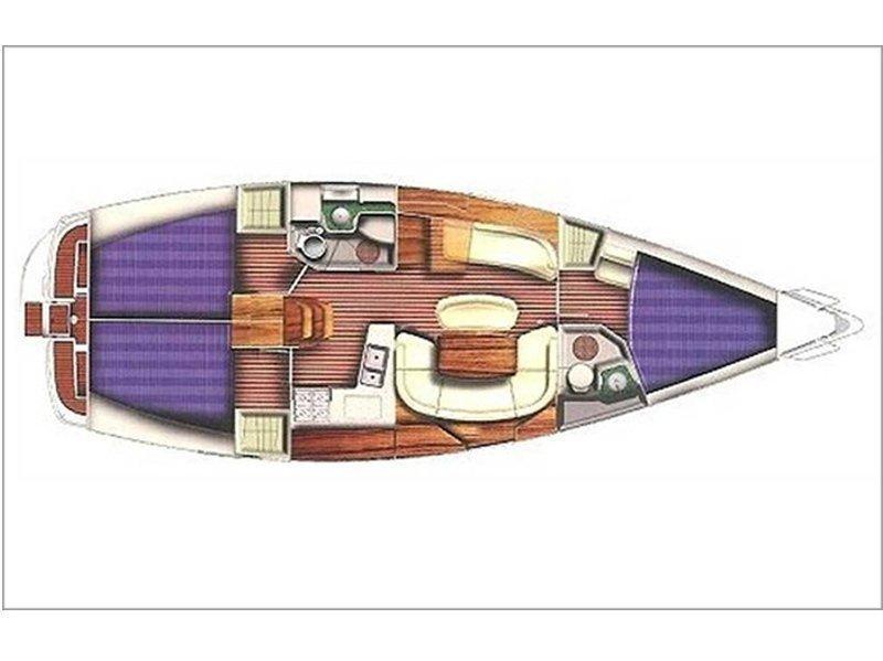 Sun Odyssey 40.3 (ADRIGO) Plan image - 11