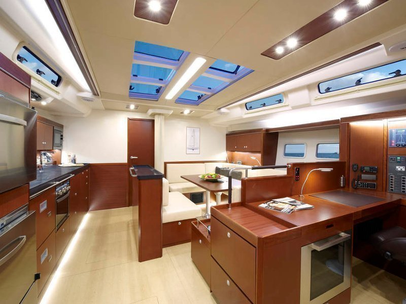 Hanse 575 (Shawe Thing (Only with Skipper)) Interior image - 3