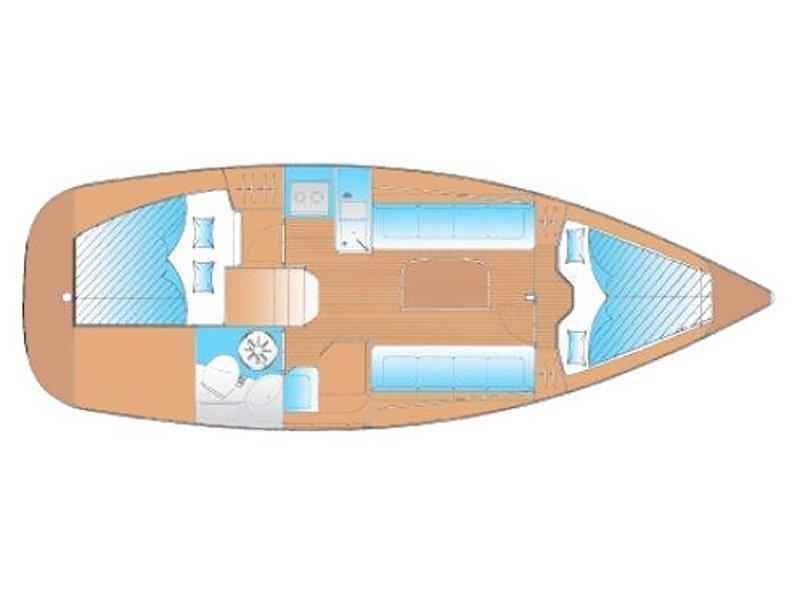 Bavaria 30 Cruiser (New 1) Plan image - 1
