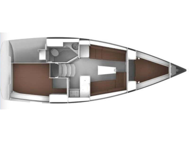Bavaria Cruiser 34 (Adria Maša) Plan image - 5