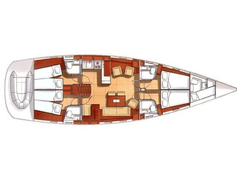 Hanse 531 (Jarami) Plan image - 1