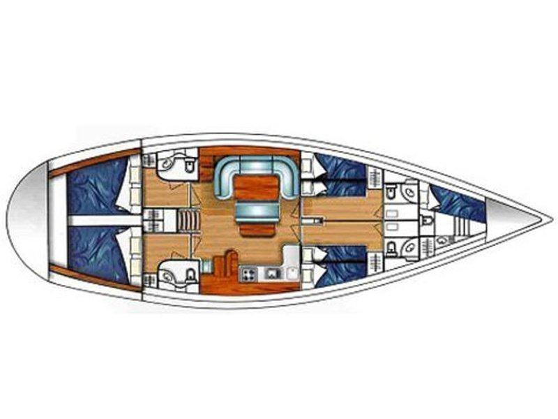 Ocean Star 51.2 (Anastasia) Plan image - 31
