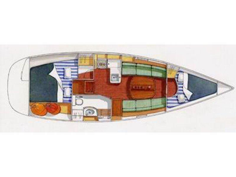 Oceanis 323 (Lady Lu) Plan image - 1