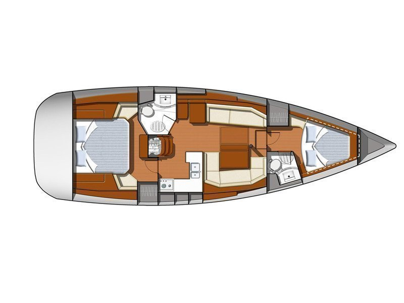 Sun Odyssey 42DS (ath42ds03) Plan image - 16