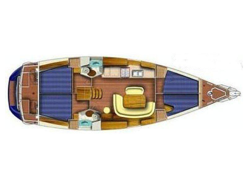Sun Odyssey 45 (Papirüs) Plan image - 10