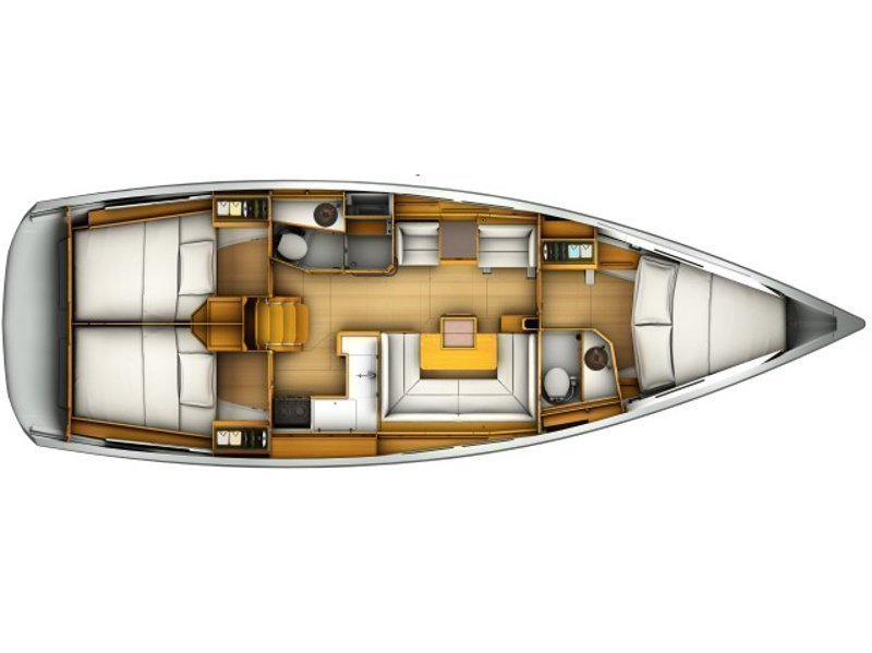 Sun Odyssey 419 (1WC) (PRES- 420-18-F) Plan image - 1