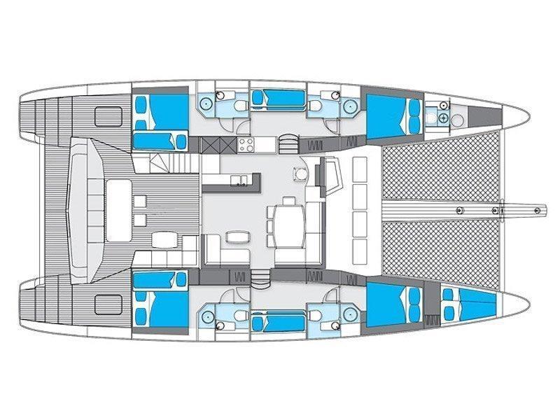 Sunreef 62 (Zimit) Plan image - 22