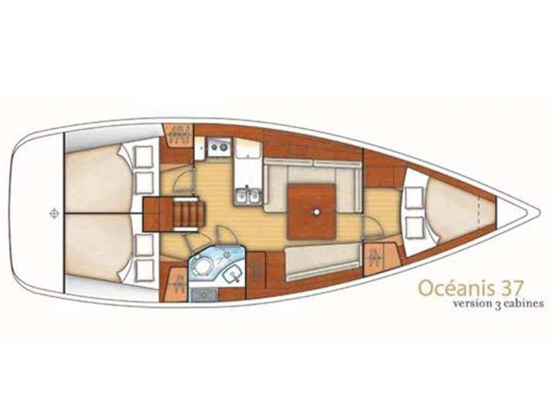 Oceanis 37 (Cinzia) Plan image - 5