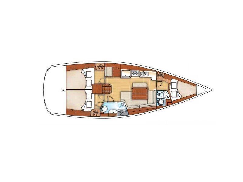 Oceanis 40 (Francy) Plan image - 5