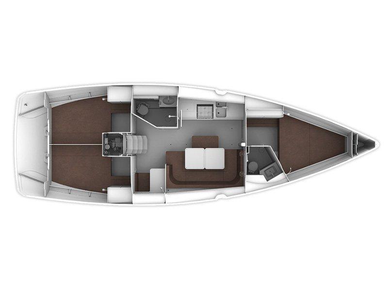 Bavaria Cruiser 41 (Melia) Plan image - 8