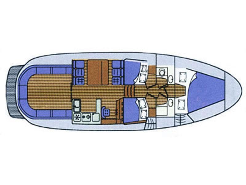 Adria 1002 (Silba) Plan image - 1