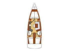 Oceanis 45 4 cabins (Mare Aeolos) Plan image - 10