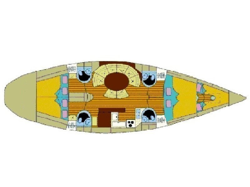 Atlantic 49[G] (blu lin) Plan image - 13