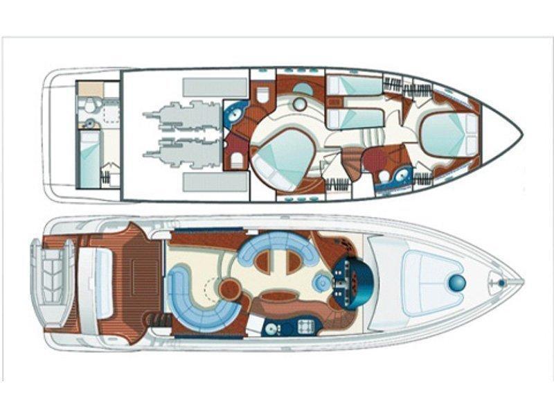 Azimut 55 Evolution (After 8) Plan image - 24