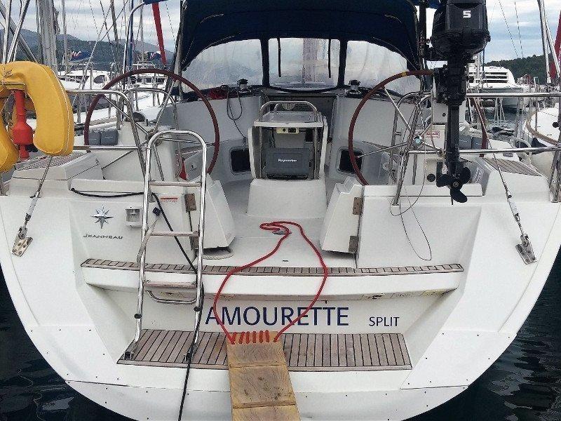 Sun Odyssey 44i (Amourette)  - 2