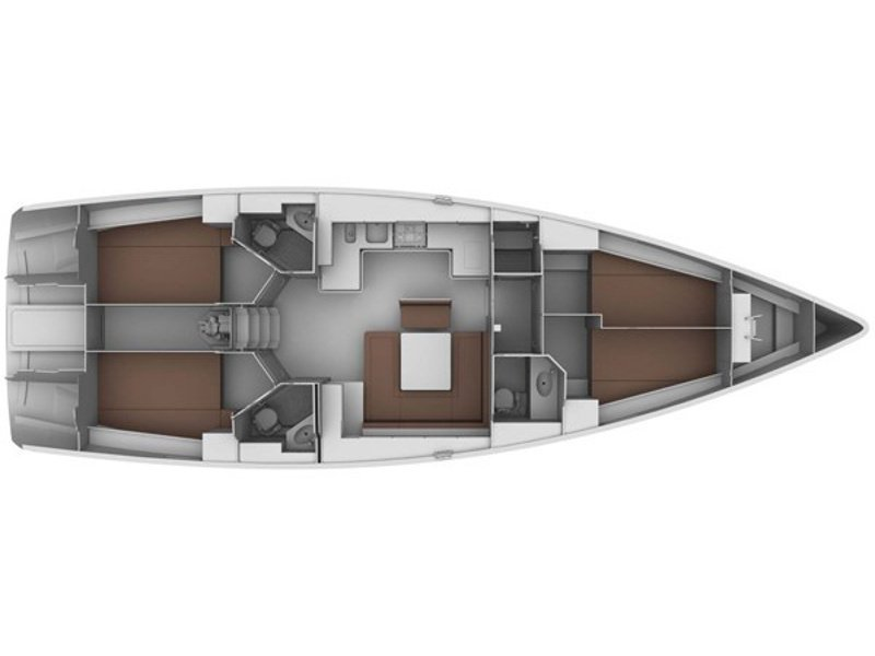 Bavaria 45 Cruiser (Nouvelle Vague) Plan image - 21