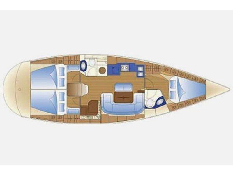 Bavaria 42 Cruiser (Serenity) Plan image - 5